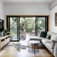 Living Room Console How To Decorate A For Cheap Best 60 Modern Tables Design Photos And Ideas By Increasing The Width Of Sliding Glass Doors Broza Immensely Improved Apartment S Visual