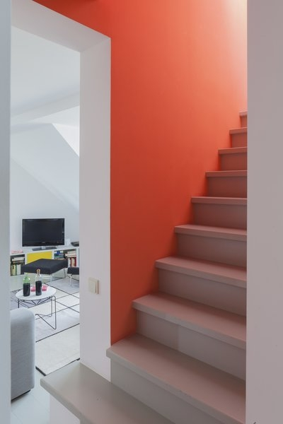 Best 60 Modern Staircase Design Photos And Ideas Dwell | Staircase For Small Area | Beautiful | Spiral | Compact | Low Cost | Living Room