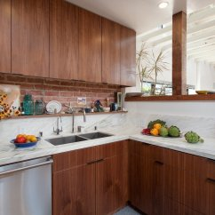 Mid Range Kitchen Cabinets Trash Can For Ashland Residence By Hsu