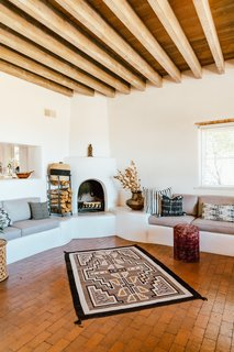 living room designs with corner fireplace cheap furniture sets best modern design photos and ideas dwell three kiva fireplaces a large collection of rugs textiles offer warmth on