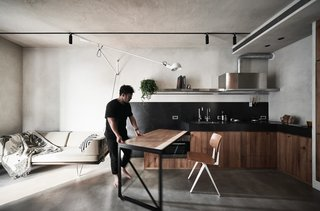 A Tiny Apartment Transforms Into Stylish E Saving Bachelor Pad For 84k
