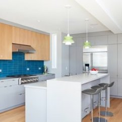 Kitchen Pendant Industrial Islands Best Modern Lighting Design Photos And Ideas Dwell The Light Filled Features Leo Bar Stools From Room Board Doo