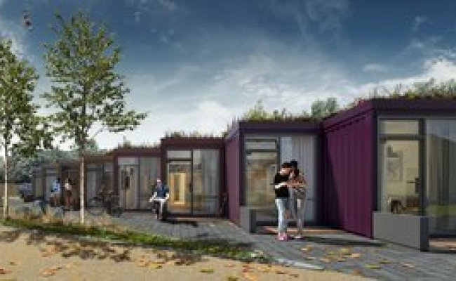 Gatehouse Road Shipping Container Homes By Fraser Brown