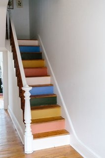 Best 60 Modern Staircase Wood Railing Design Photos And Ideas Dwell | Small House Ladder Design | Low Cost | Small Residence | Middle Class Duplex House | Small Living Room Stair | Simple