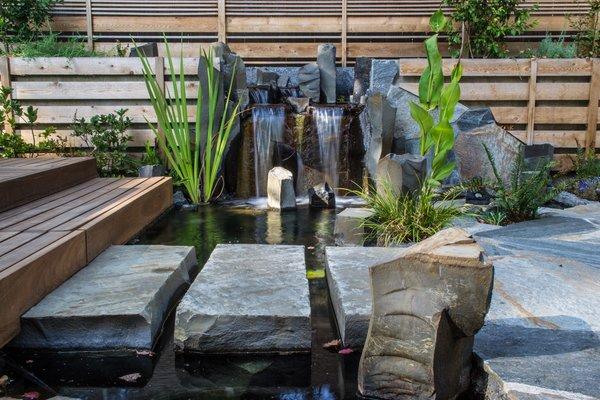 SW Alice Street Garden Modern Home in Portland, Oregon by
