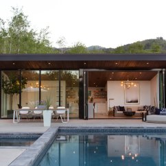Outdoor Kitchen Pavilion Designs Crown Molding For Cabinets Modern Pool Design: Ideas Homes & Living
