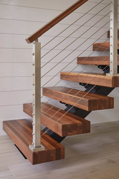 Photo 5 Of 7 In A Modern Stairway That Brings Homes To The