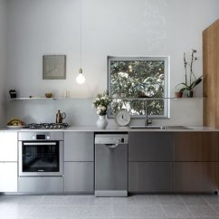 Metal Cabinets Kitchen Jcpenney Rugs Best Modern Dishwasher Design Photos And Stainless Steel Ikea Elevated By The Cherry Wood Cabinetry
