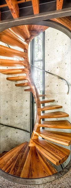 Best 60 Modern Staircase Design Photos And Ideas Page 2 Dwell | Spiral Staircase 2 Floors | 8 Ft | Interesting | Spiral Shaped | Outdoor | Wooden