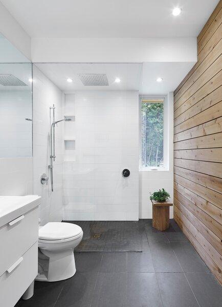 modern bathroom porcelain tile floors