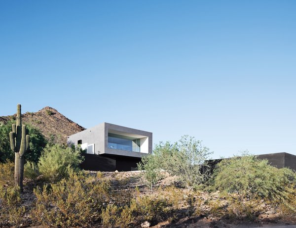 hans wegner chairs design within reach grey fabric with chrome legs this house doesn't hold back and embraces the desert - dwell
