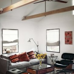 Lounge Chair For Living Room Folding Materials Eames Porn Dwell In The Area Of Actor Vincent Kartheiser S Hollywood Cabin Redesigned By Funn Roberts To