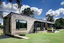 Modern Mobile Home Dropped In Place Crane - Dwell