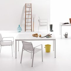 High End Folding Chairs Vanity Photo 4 Of 5 In A Family Run Company Gracefully Shifts From Aluminum To Outdoor Furniture