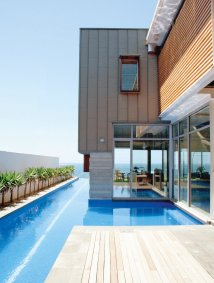 Modern House with Pool Connected