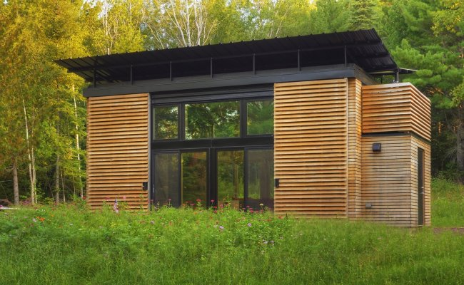 A Small Wisconsin Cabin Filled With Multifunctional