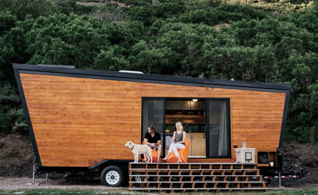 How To Build A Tiny Diy Trailer On A Budget Dwell
