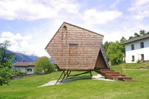 Stay In Tiny Shingled Cabin Austria Resembles