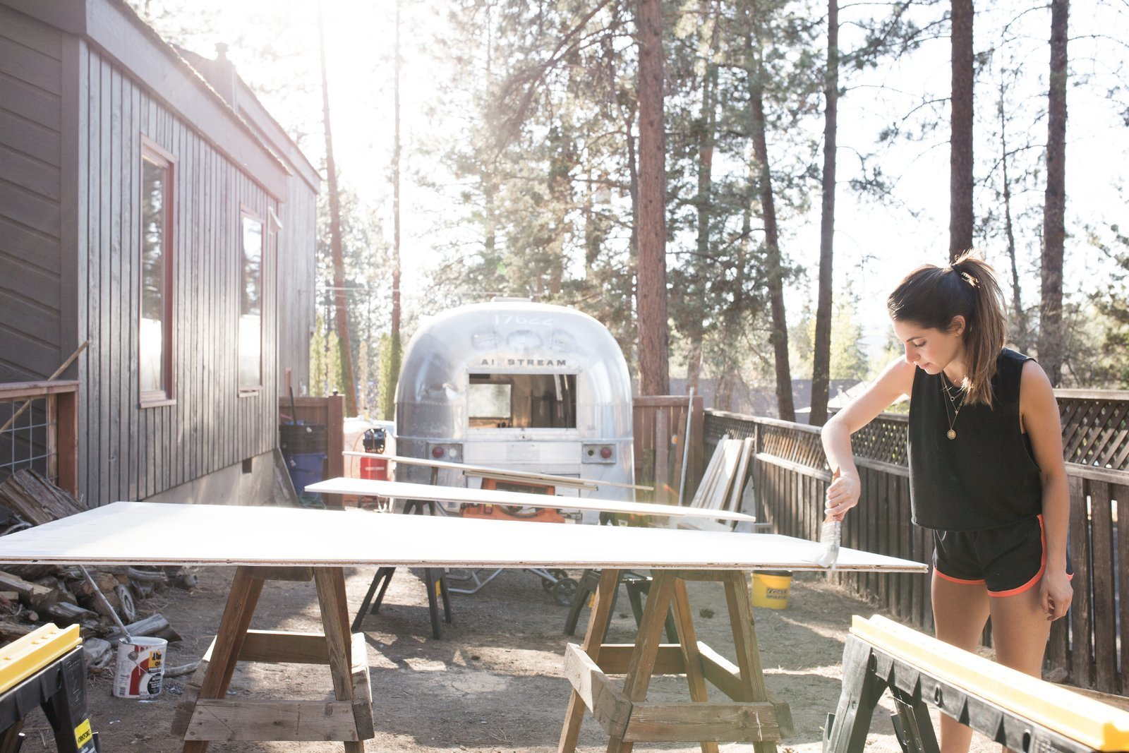 See How An Oregon Couple Renovated Their 1966 Airstream Dwell