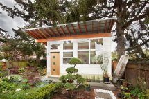Tiny Backyard Studio In Seattle Filled With Midcentury