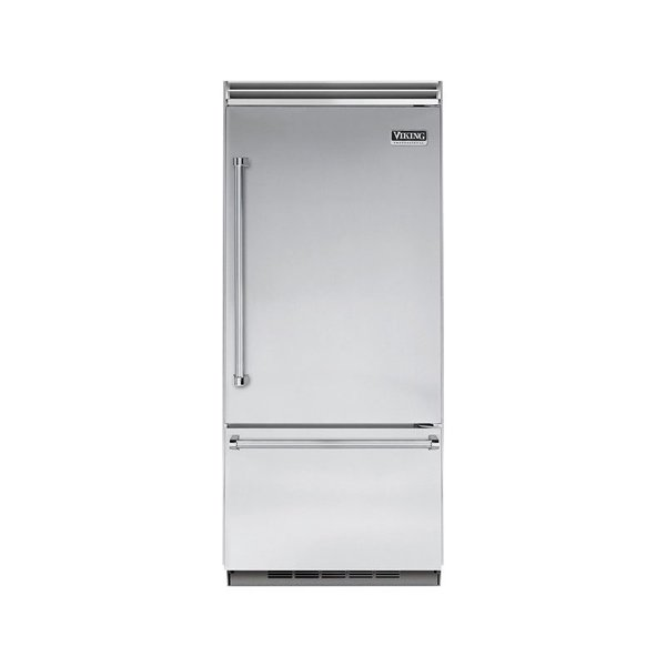 "Viking Professional 5 Series 36"" Built-In Bottom-Freezer Refrigerator"