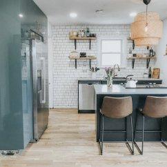 Kitchen Ikea Aqua Utensils Budget Breakdown A Denver Gets Beautiful Makeover For Just 7 8k