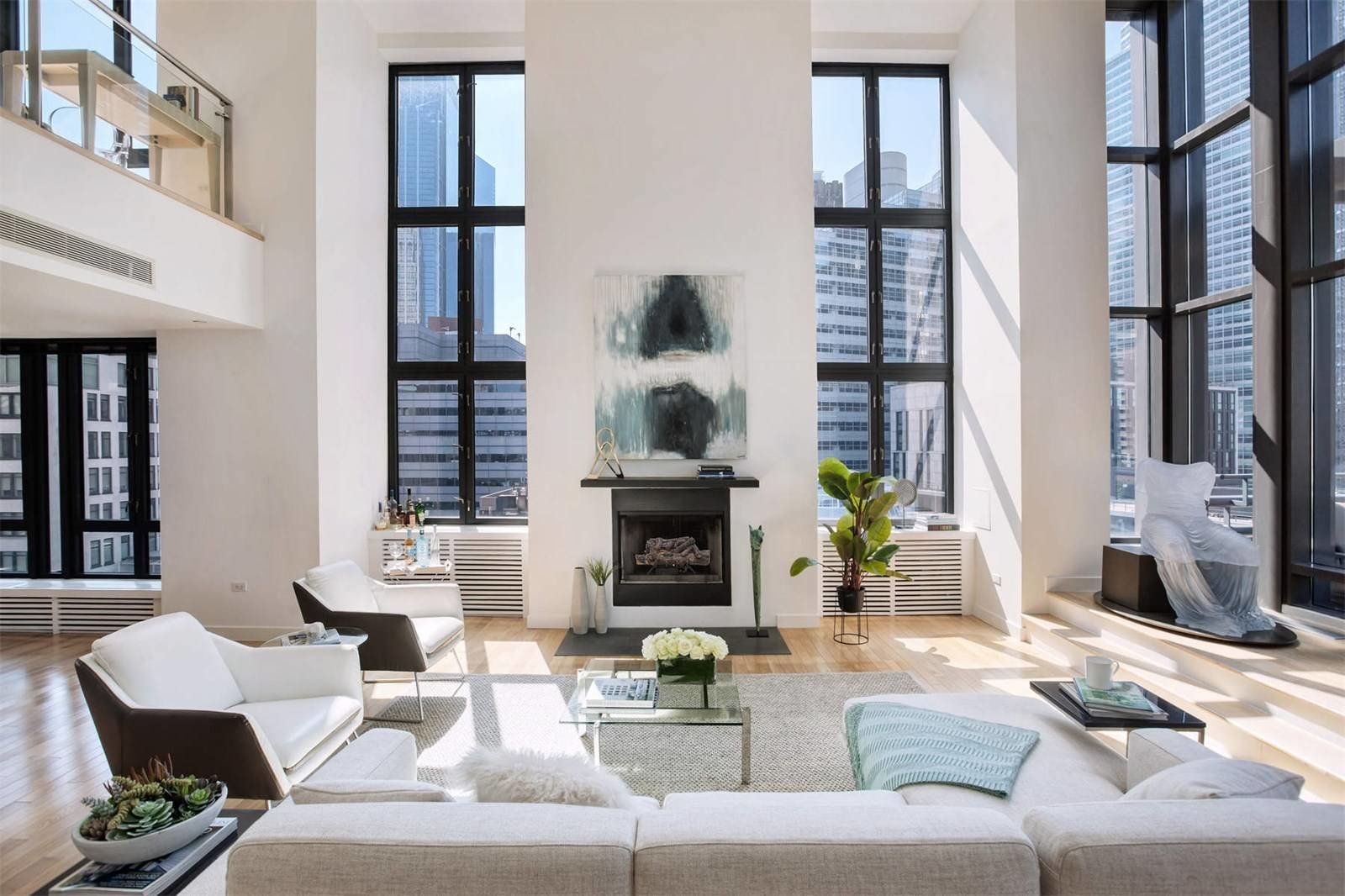 TriBeCa Penthouse with Private Rooftop Asks 69M Modern