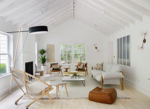 Hamptons Beach Retreat Scandinavian-style