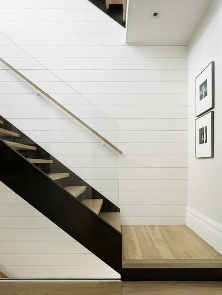 Best 34 Modern Staircase Glass Railing Metal Tread Design Photos   Glass Handrails For Stairs   Balustrading   Custom Glass   External   Frameless   Fully Glass