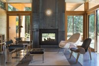 10 Modern Fireplaces That Make For Inviting Interiors - Dwell