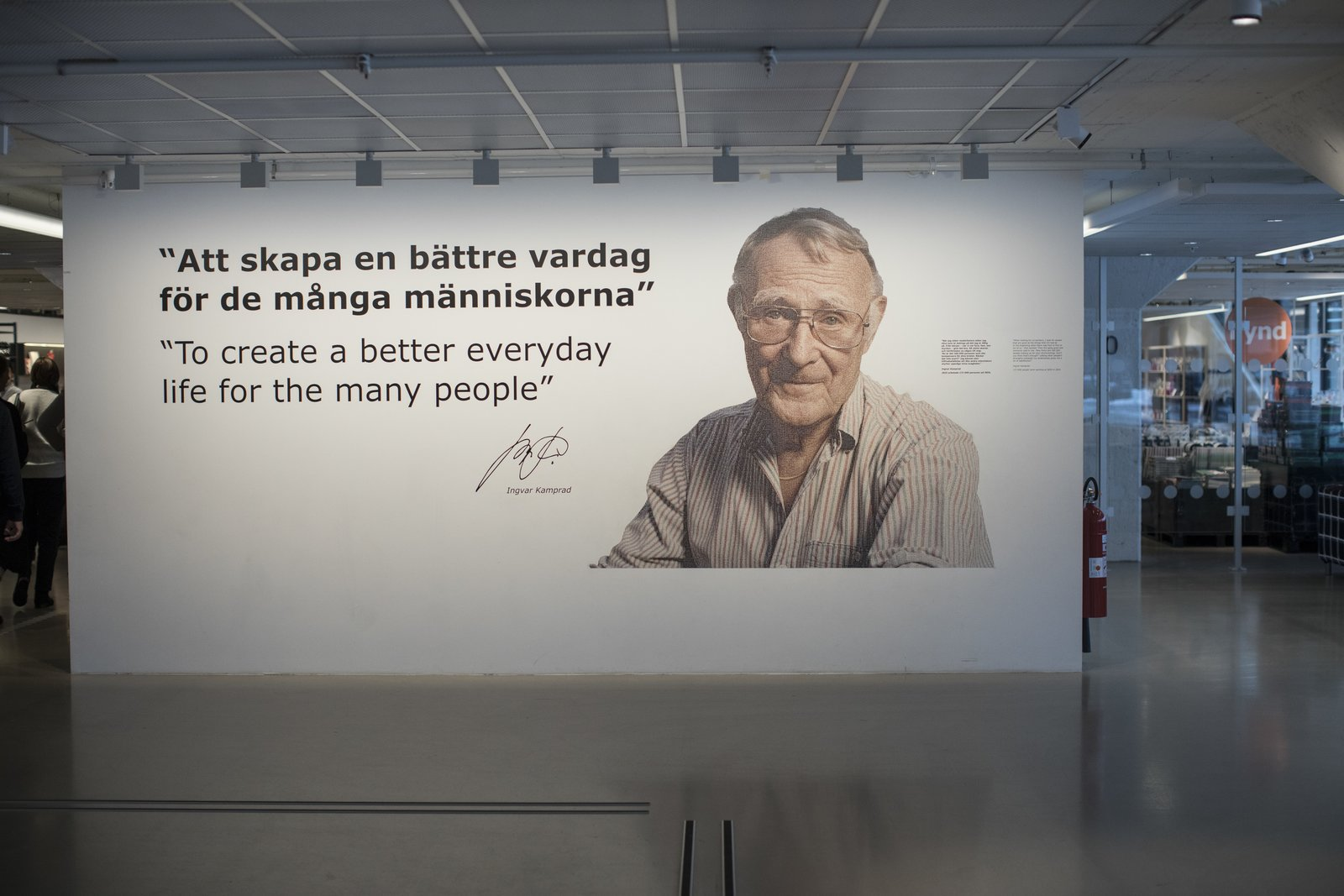 Modern Simplicity How Ikea Founder Ingvar Kamprad Built An Empire Out Of