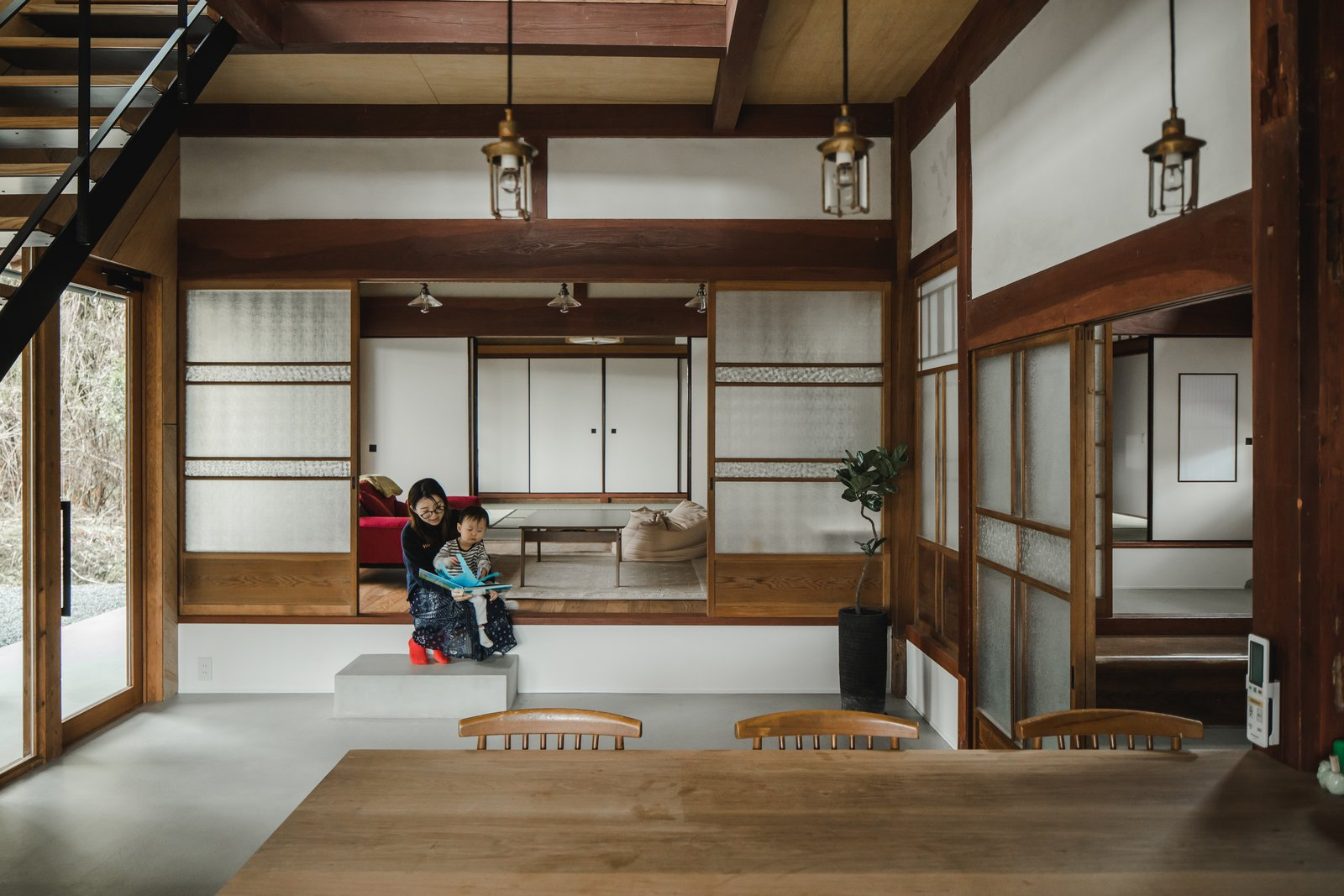 Before  After An Old Japanese Farmhouse Gets a Modern