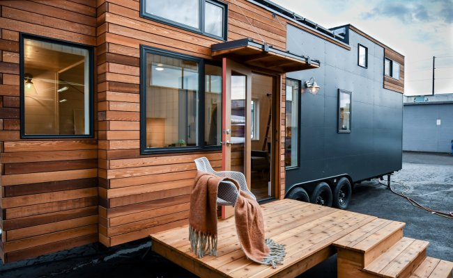 A Family Customizes An Off Grid Tiny Home With Online