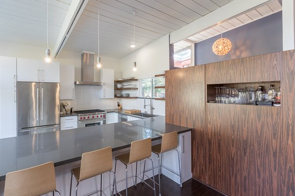 Mid Century Modern Kitchen Modern Home In San Rafael California On Dwell