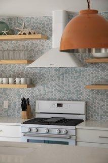 kitchen backsplash design slate floor 50 ideas modern backsplashes dwell 43 a full height hexagonal inspired by the ocean
