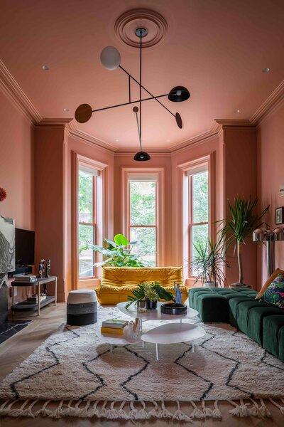 modern living room recessed lighting
