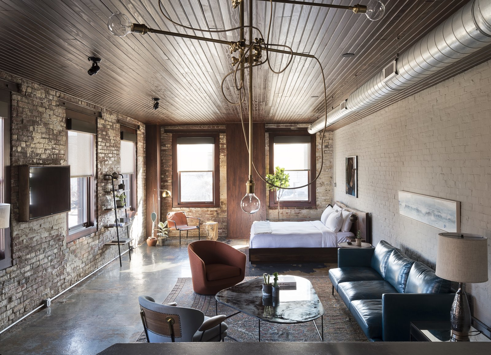 History and Modernity Meet in This Industrial Hotel and