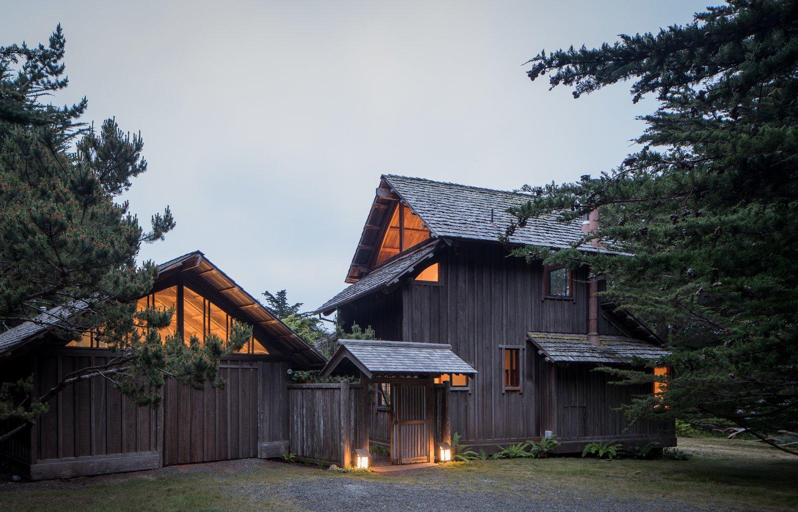 Hinoki House Modern Home In Mendocino California By Zippy