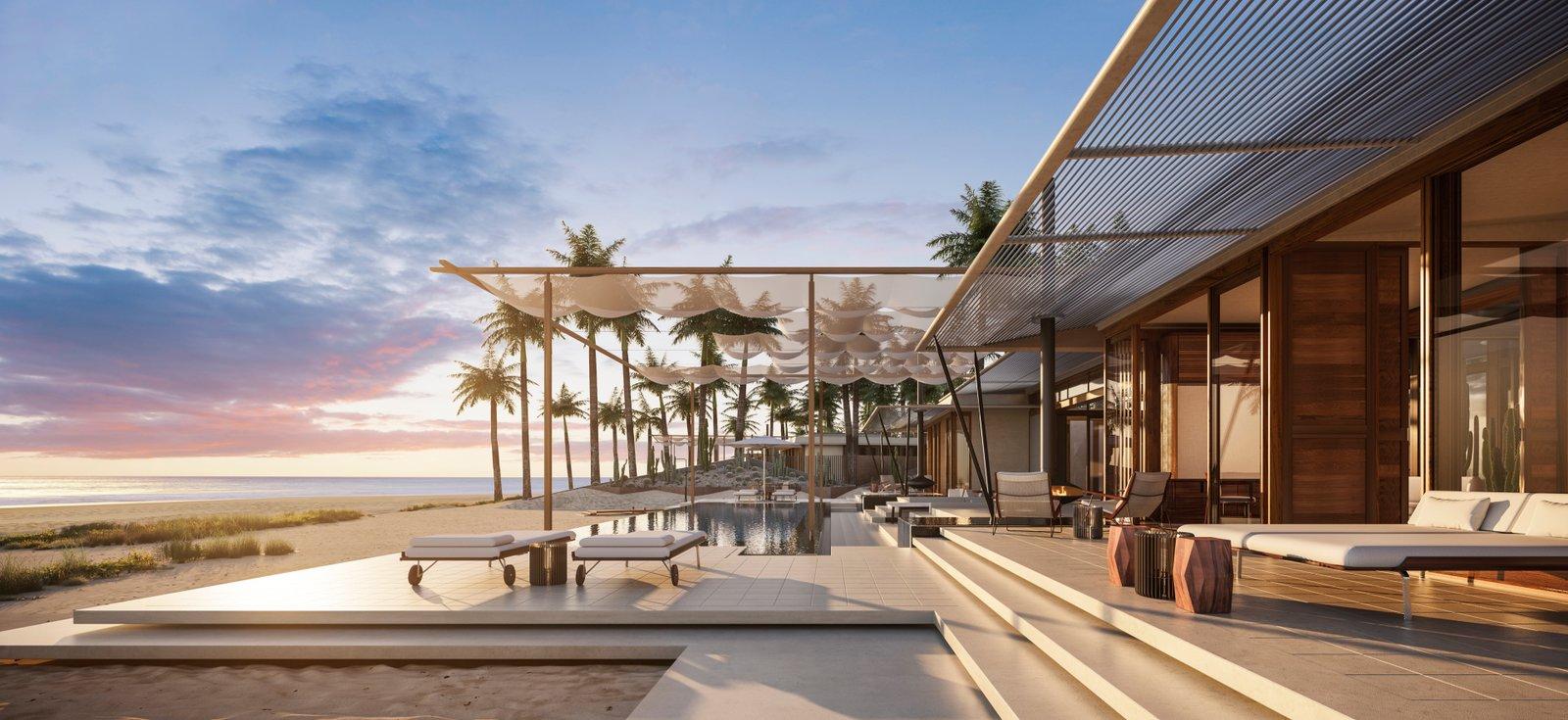 An Extraordinary Resort on the Baja Peninsula Modern Home