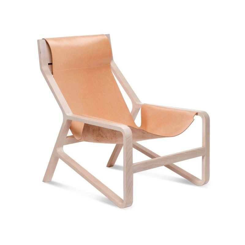 blu dot chairs cube chair with tray toro sling lounge by dwell