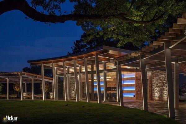contemporary omaha pavilion modern home