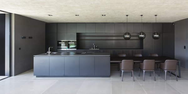 kitchen ceiling lighting counter chairs best modern design photos and ideas dwell the is heart of home cooking conversing go hand in as meals are created memories made whether teaching an old family