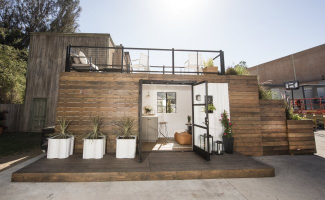 The Shipping Container Tiny House Modern Home In Long