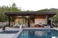 This Can-Do Pool House Cleverly Goes From Private to Party ...
