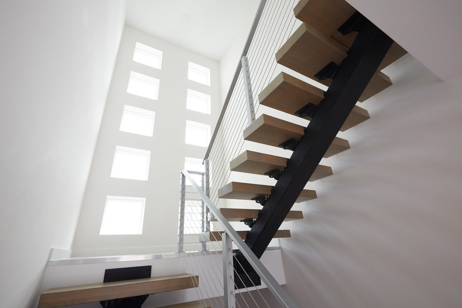 A Modern Stairway That Brings Homes To The Next Level Dwell   Modern Staircase Designs For Homes   Spiral   Steel   Minimalist   Concrete   Awesome