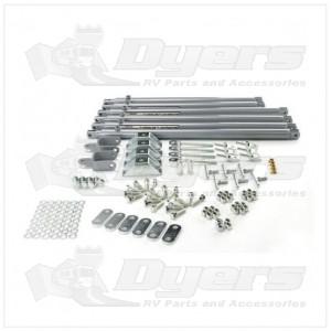 Lippert Components JT's Strong Arm™ Jack Stabilizer Kit
