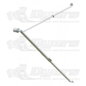 Dometic Nested Tall Polar White Awning Hardware for
