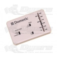 Dometic Ac Thermostat Wiring Diagram Civic Obd2 Pinout Polar White Analog Cool Furnace Air Conditioner Repair Parts Conditioners Rv Appliances