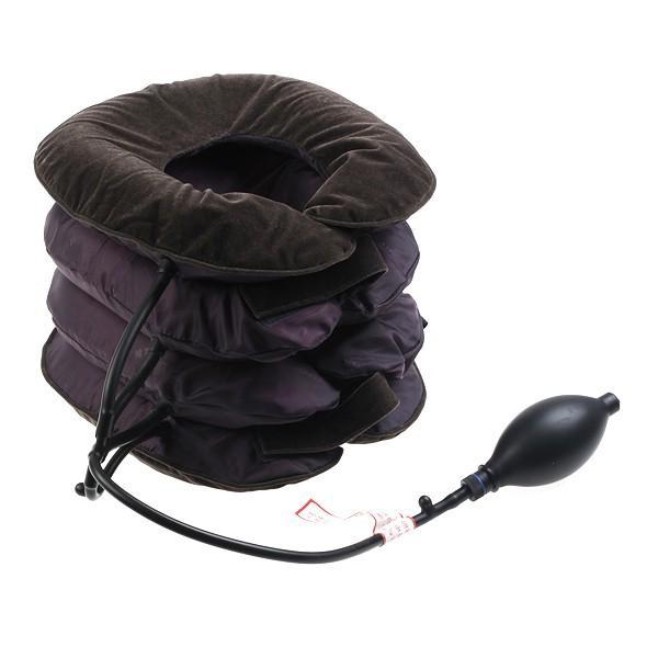 Cuscino per Cervicale Trazione per Collo Gonfiabile Massaggio Dolore
