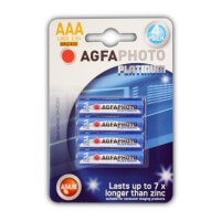 ΜΠΑΤΑΡΙΑ AGFA PHOTO DIGITAL PLATINUM ALKALINE 3A 4TEM